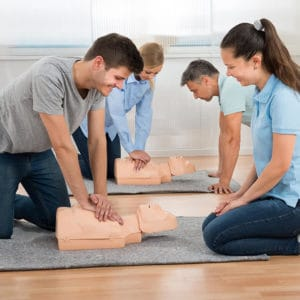 First Aid at Work (25th-27th July 2018 – Brackley, Northamptonshire)