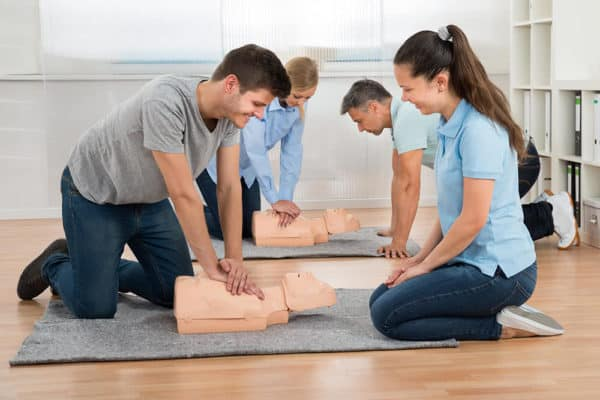 Adult first aid courses in Brackley, Bicester and Milton Keynes