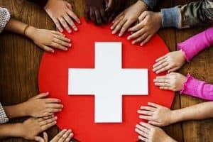 Kids first aid workshop in Brackley